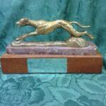 Pattie Platinum Trophy Dog image