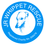 JR Whippet Rescue logo Circle